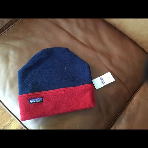 Patagonia Synch Alpine Hat~ Navy Red ~NWTS 48a973a2414
